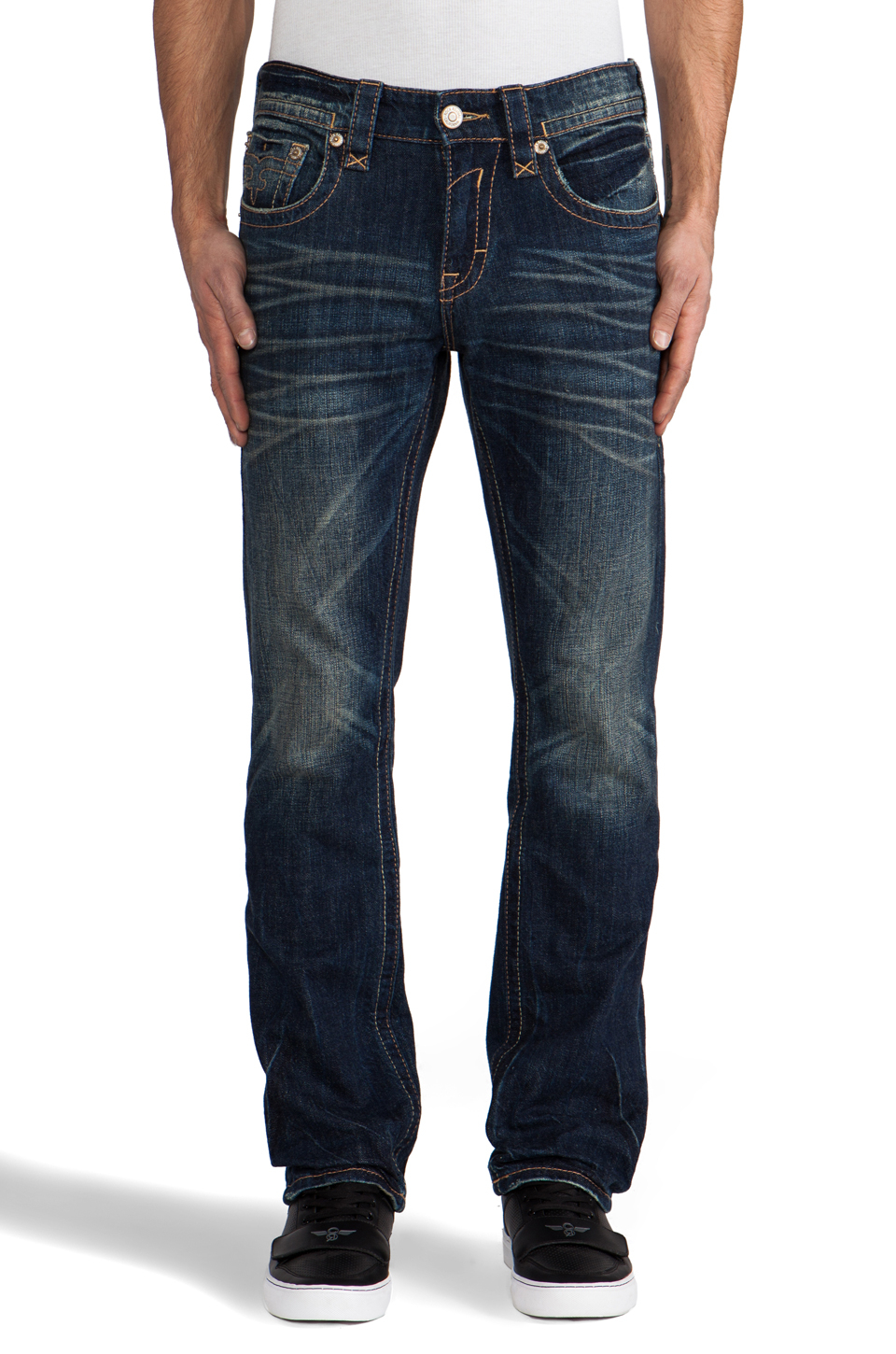 Rock Revival Jeans In Blue For Men | Lyst