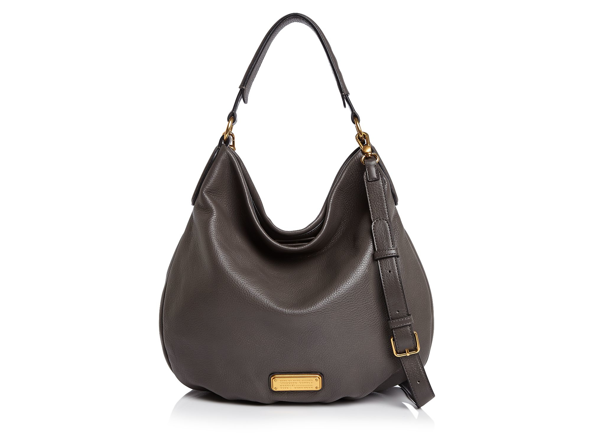1a5e174977e9f Lyst - Marc By Marc Jacobs New Q Hillier Hobo in Gray