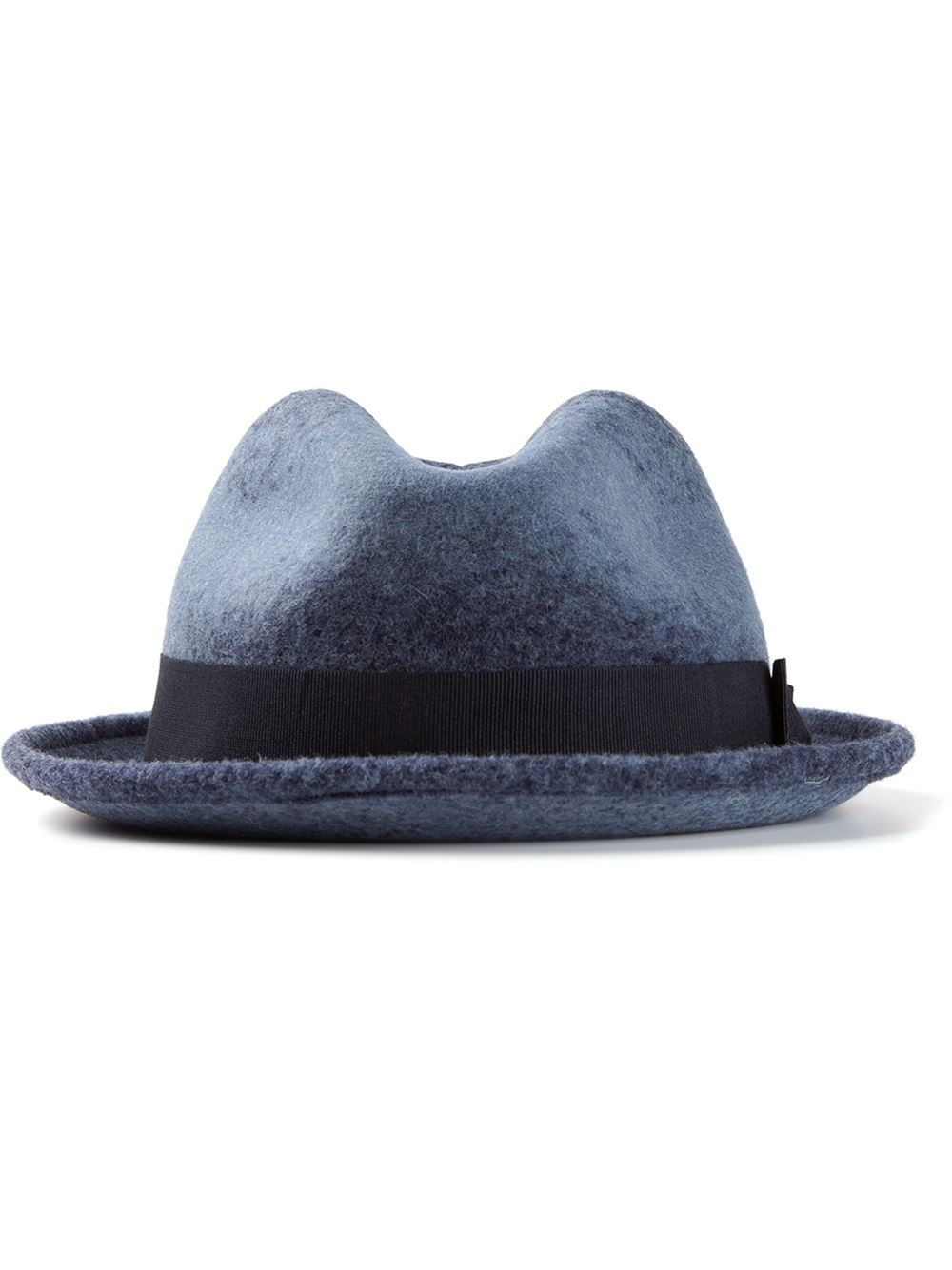 a16b81ff Paul Smith Trilby Hat in Blue for Men - Lyst