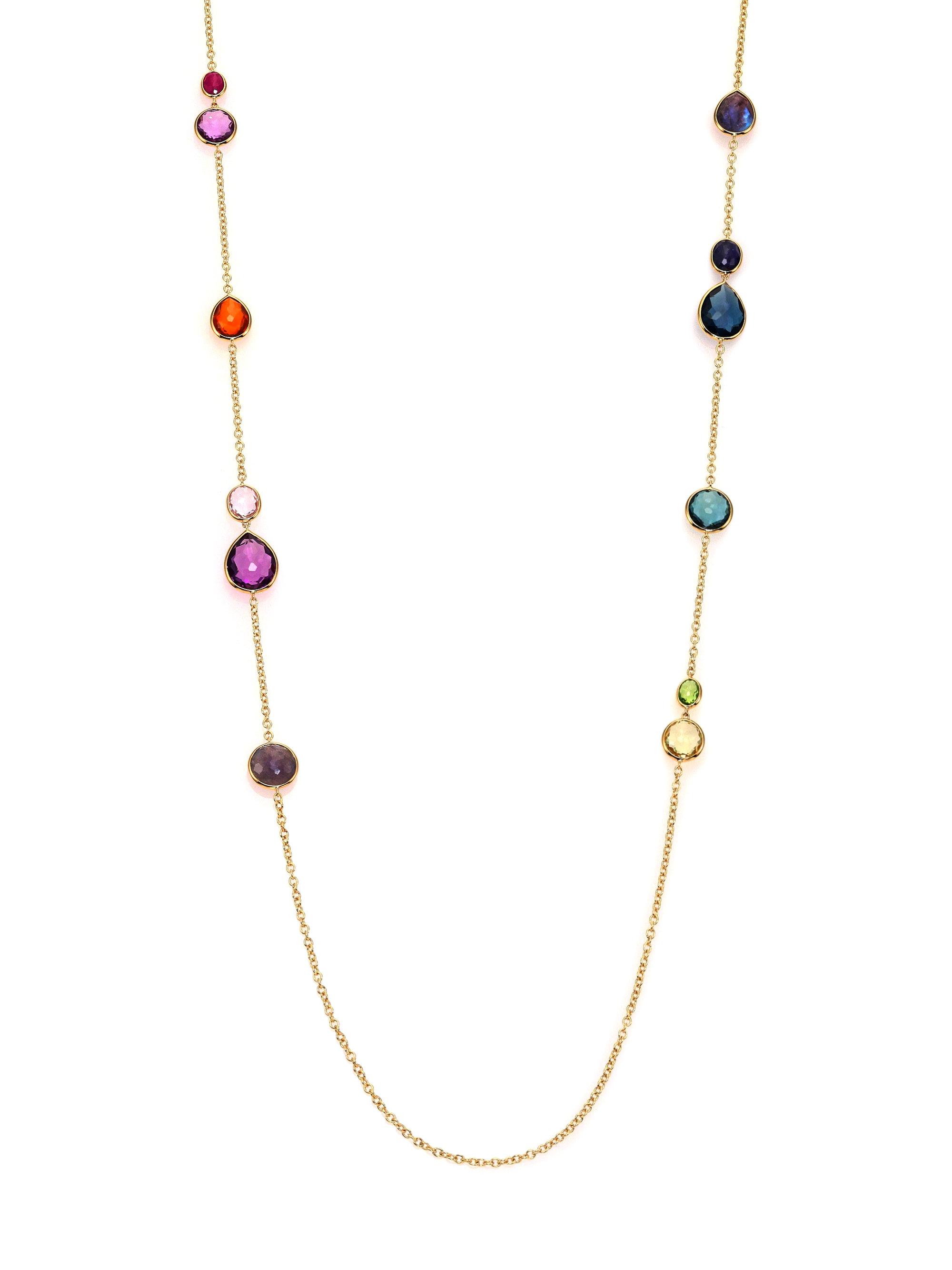 Lyst Ippolita Rock Candy Fall Rainbow Semi Precious