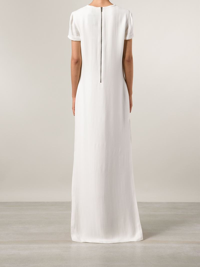 Womens Short-Sleeve Column Gown Lanvin Discount Wholesale Price Discount Popular tVE579c