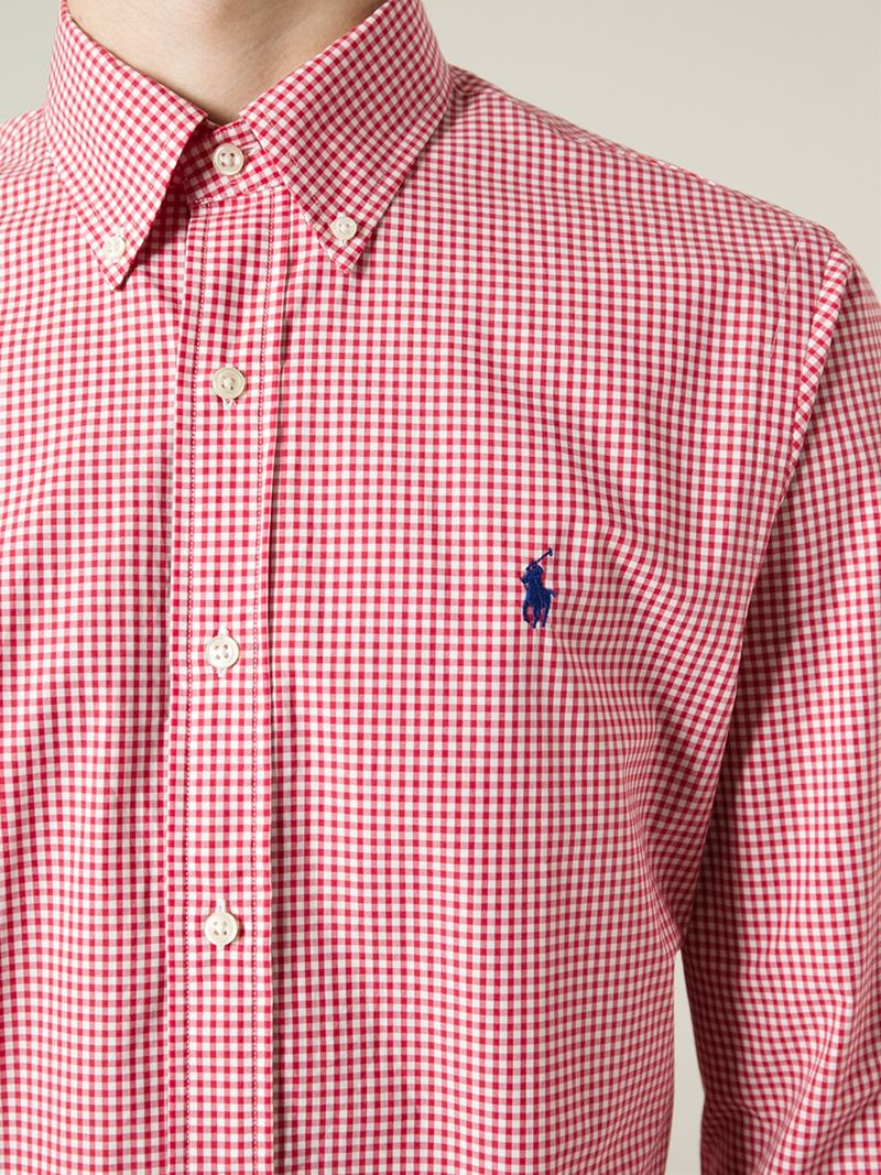 Polo Ralph Lauren Fitted Classic Fit Button Down Collar