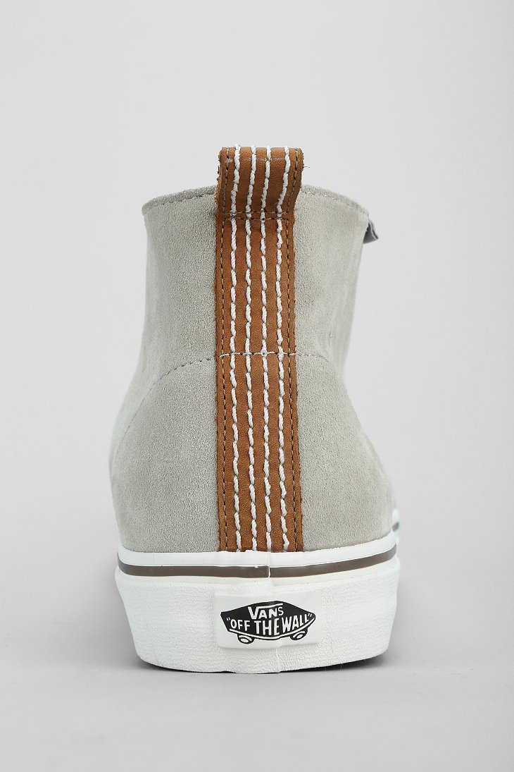 f09eb1966a Lyst - Vans Decon California Suede Mens Chukka Boot in Gray for Men