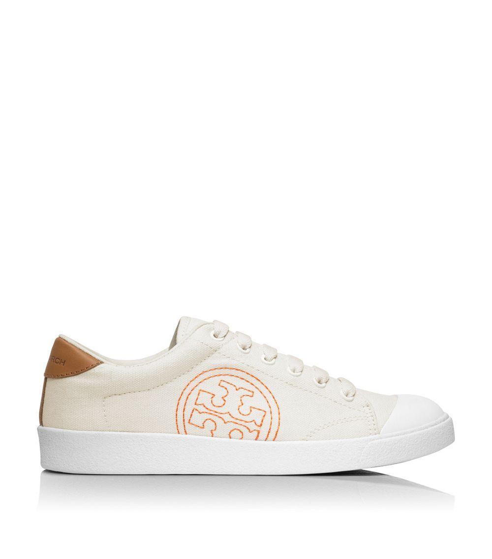 7b11281b8fab Lyst - Tory Burch Wally Sneaker in White