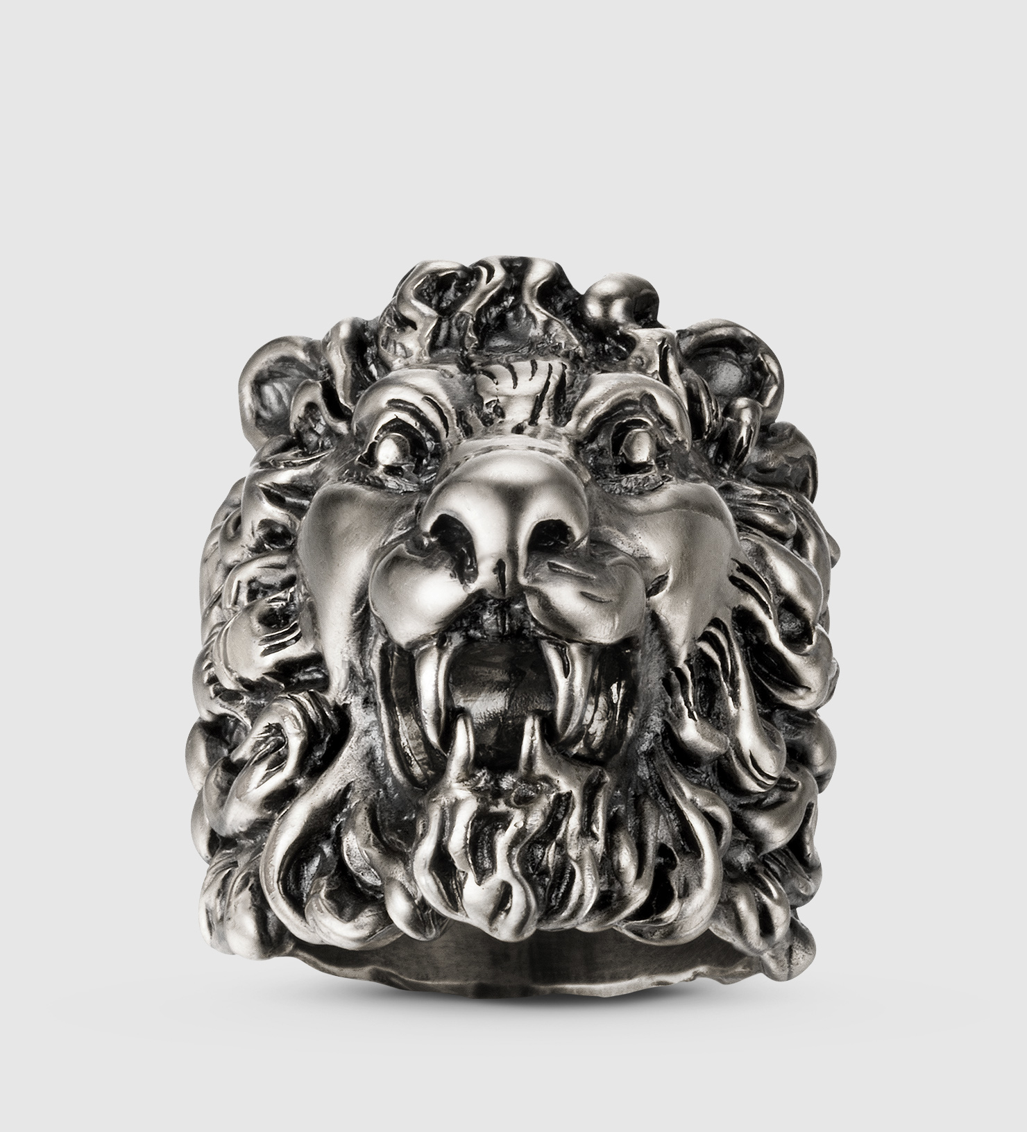 image rings antique for lion salat head black miriam loading name ring