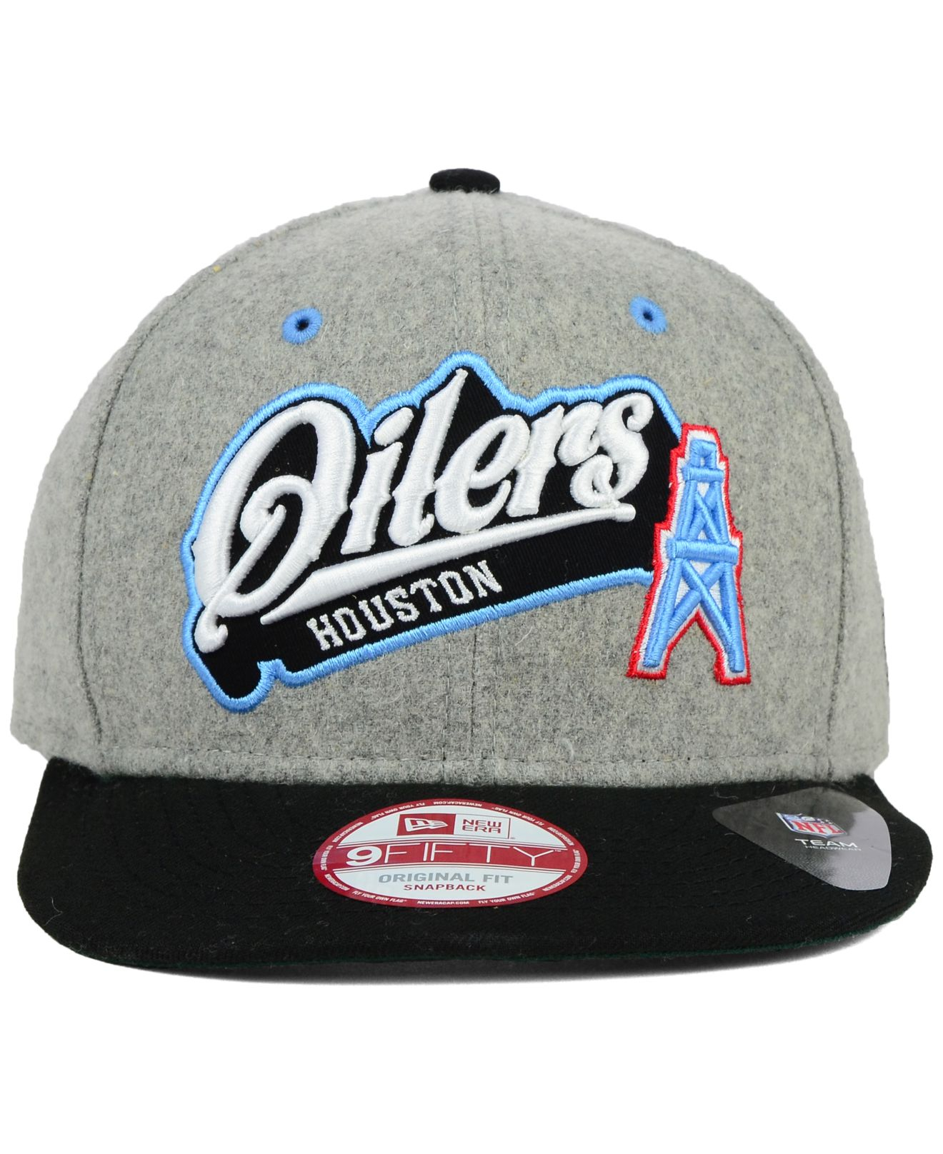 New era gray houston oilers meltone fifty snapback cap product normal jpg  1320x1616 Houston oilers hat 8d4c3b819