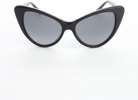 cf5c190a135 Sunglasses TF173 Brown 75236. Tom Ford Black Acrylic Nikita Exaggerated Cat  Eye ...