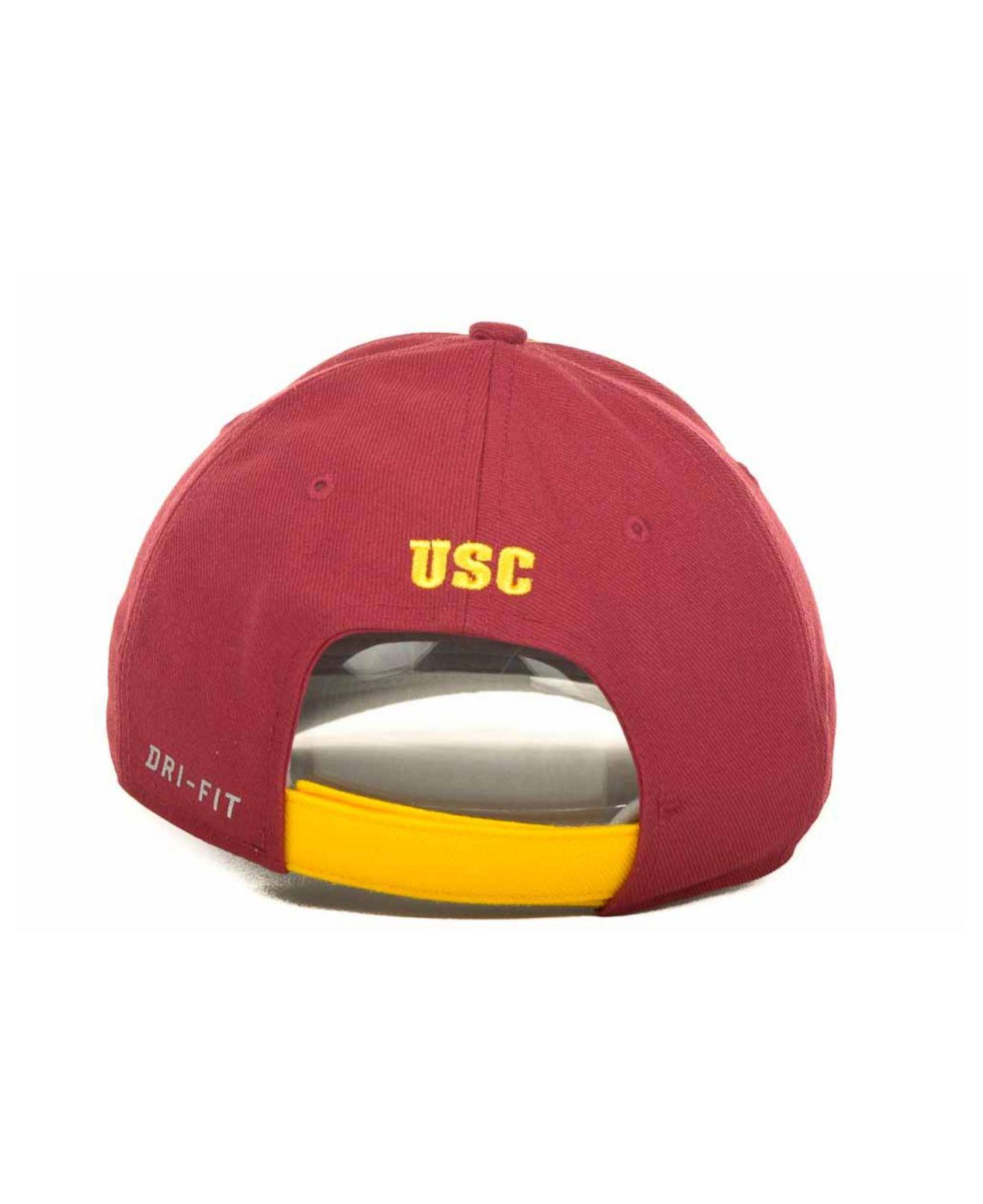 quality design 1fdf8 168dc Lyst - Nike Usc Trojans Sideline Legacy 91 Cap in Red for Men