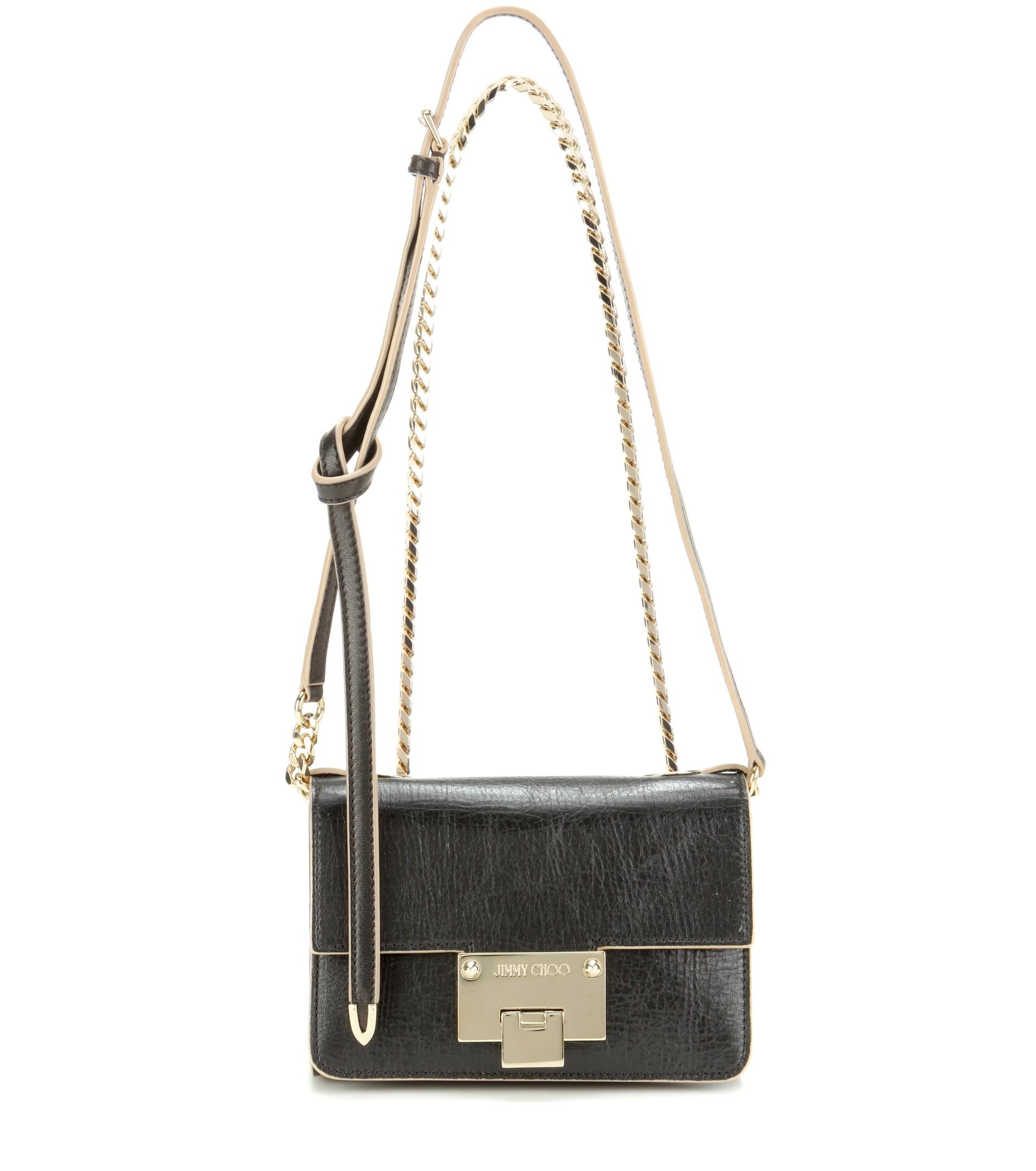 Lyst Jimmy Choo Rebel Soft Mini Leather Shoulder Bag In Black. Tuscany  Leather Tl Bag Soft Shoulder With Tel Detail Red Tl141223 44e45eb1dfcad