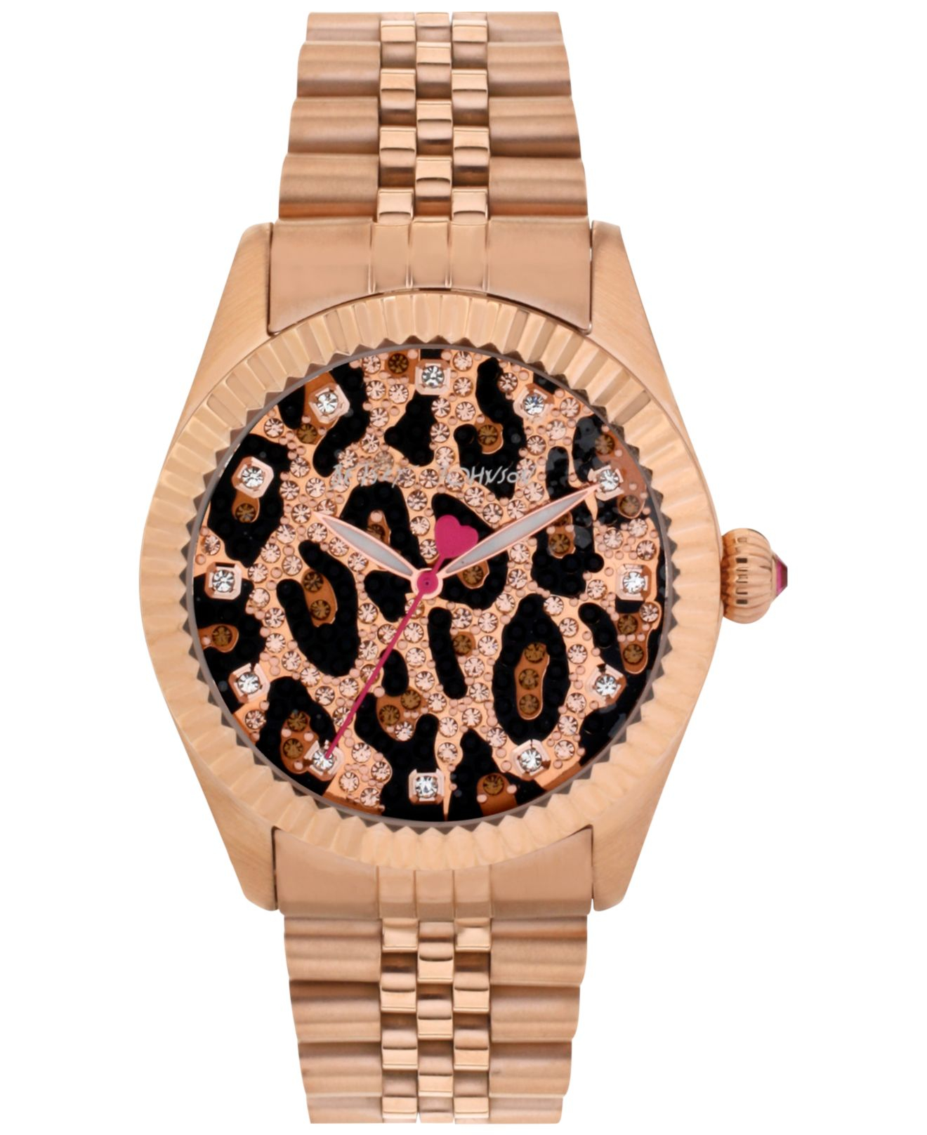 betsey johnson s gold tone stainless steel