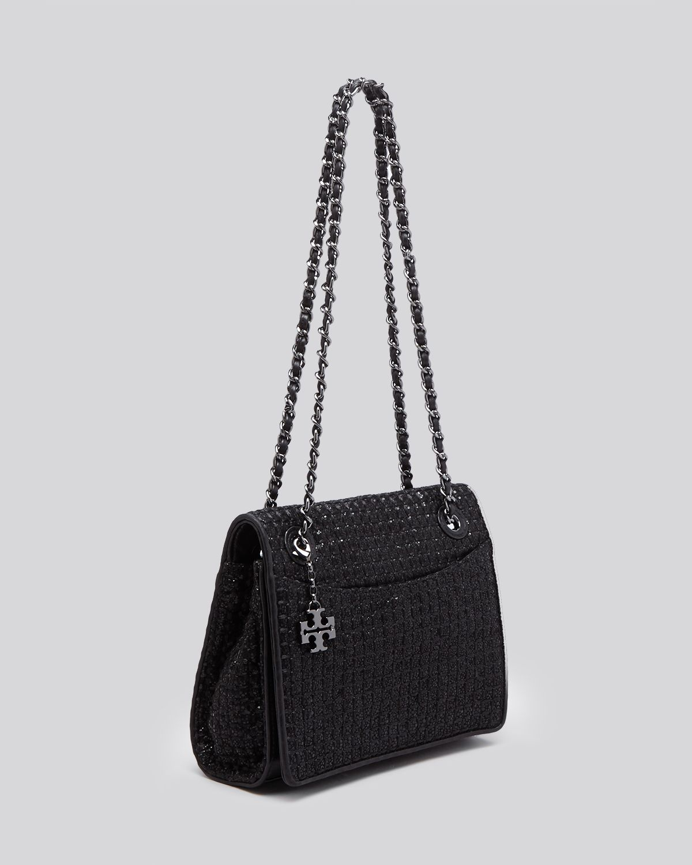 c79f73c1890 Lyst - Tory Burch Shoulder Bag - Fleming Metallic Quilted Medium ...
