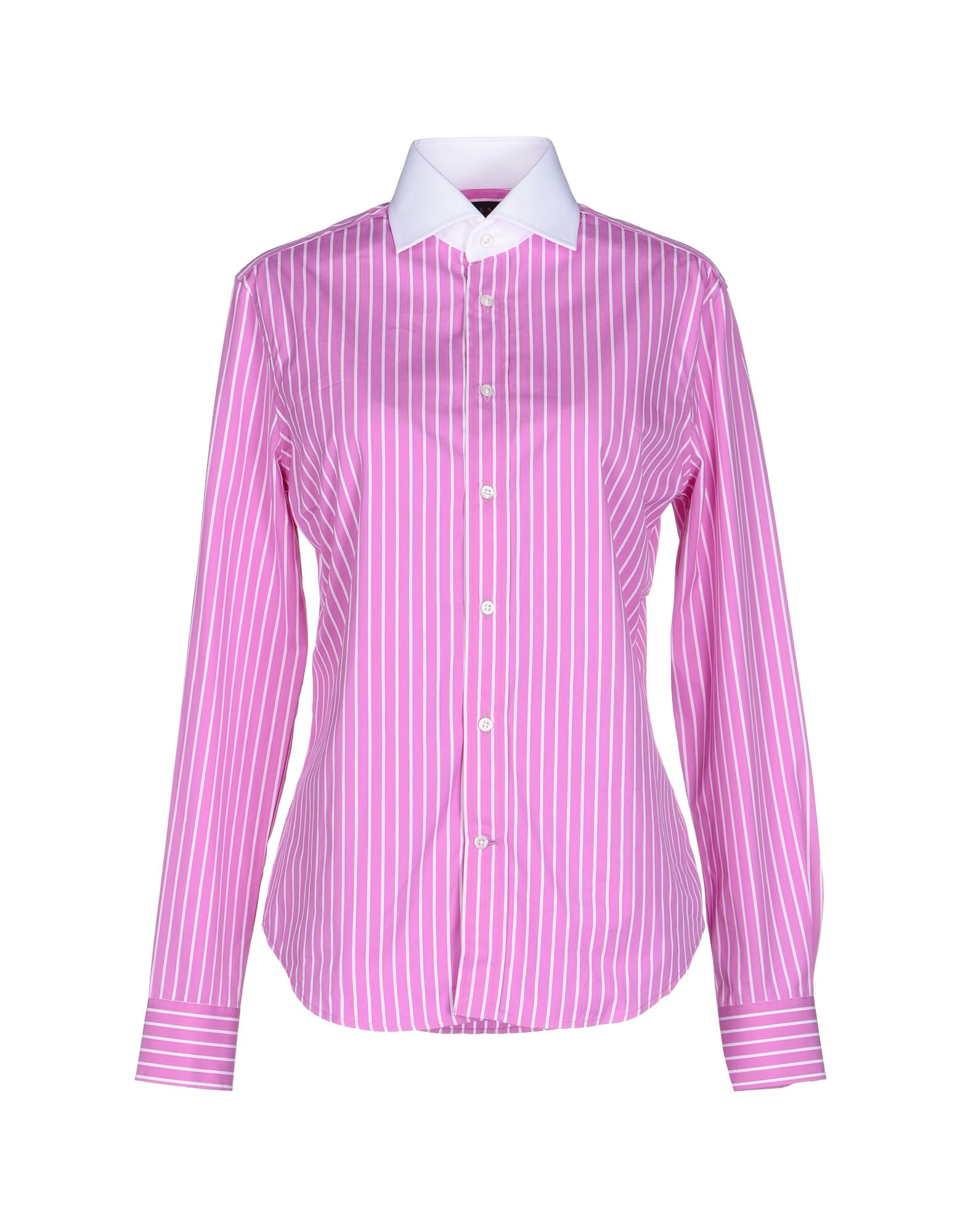 Ralph lauren black label shirt in purple lyst for Black ralph lauren shirt purple horse