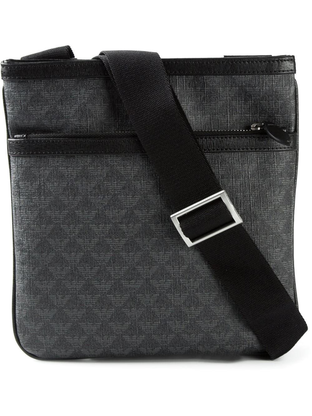 Lyst - Emporio Armani Classic Cross Body Bag in Black for Men e5d32afdcb693