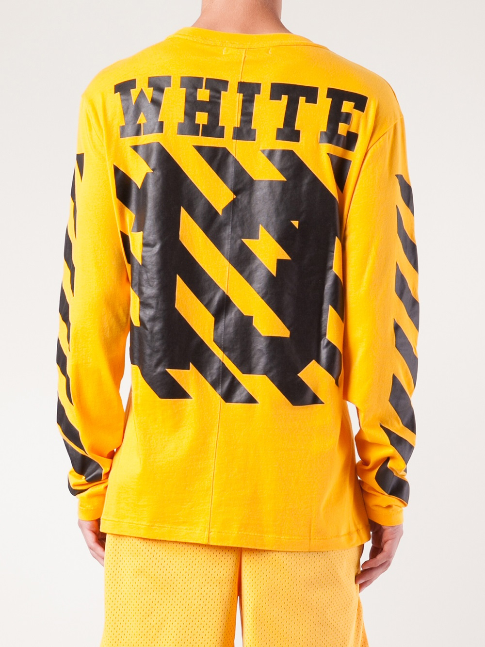 Off White Spring Summer 2017 Women S Collection: Off-White C/O Virgil Abloh Long Sleeve T-Shirt In
