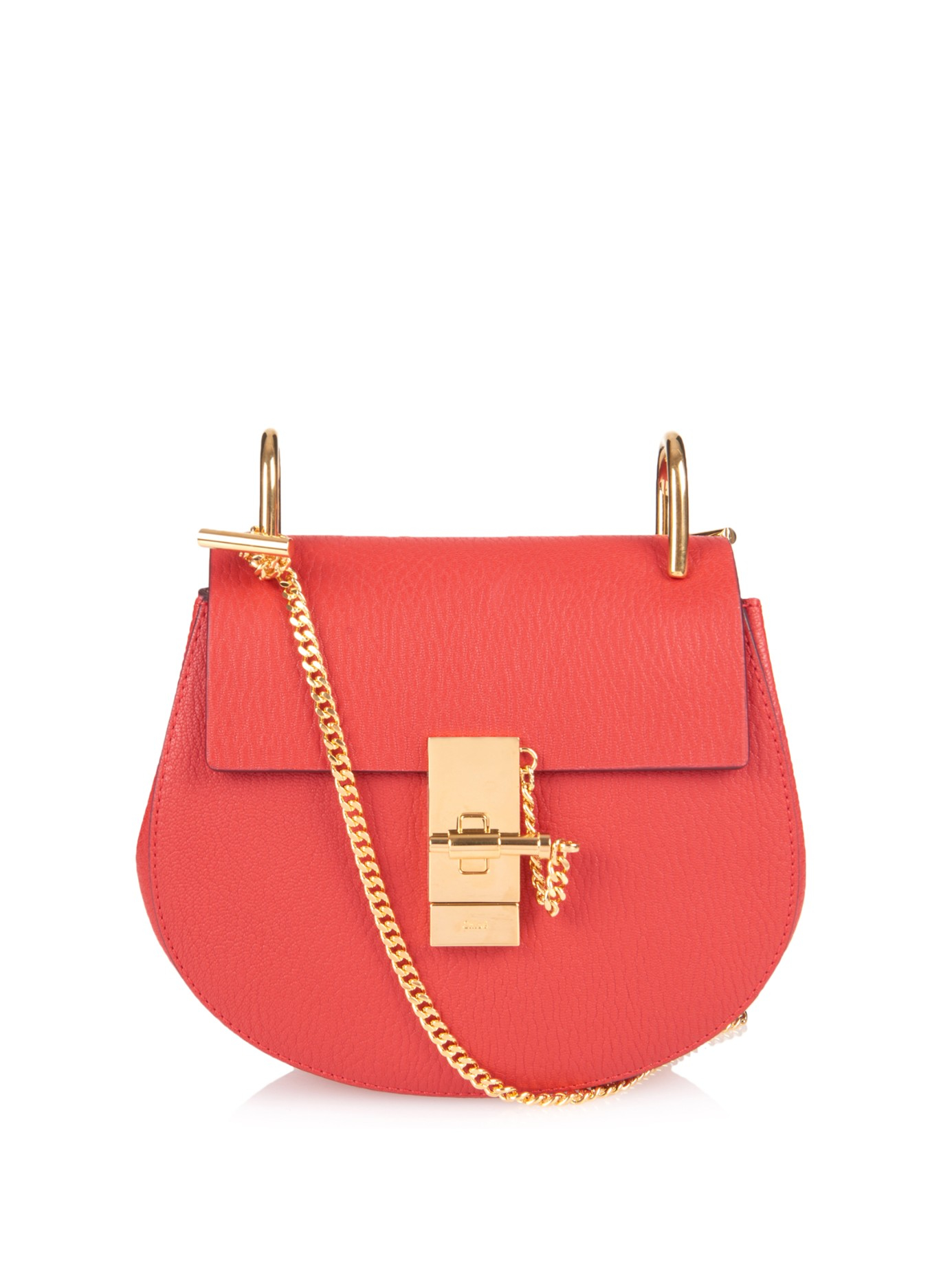 chloe fake - chloe drew mini ostrich leather crossbody bag, handbag chloe online