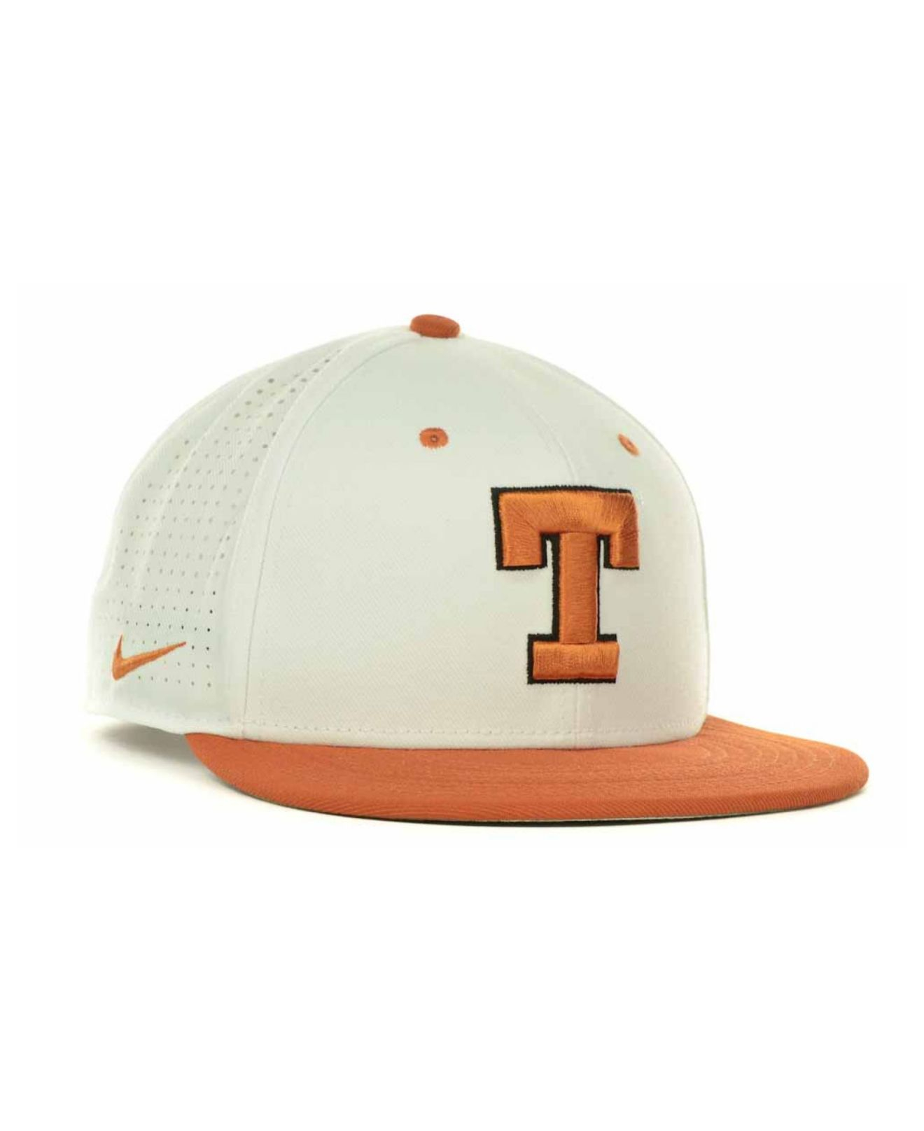 2510aa4da3f ... new arrivals lyst nike texas longhorns ncaa authentic vapor fitted cap  in white 9446f f33fd