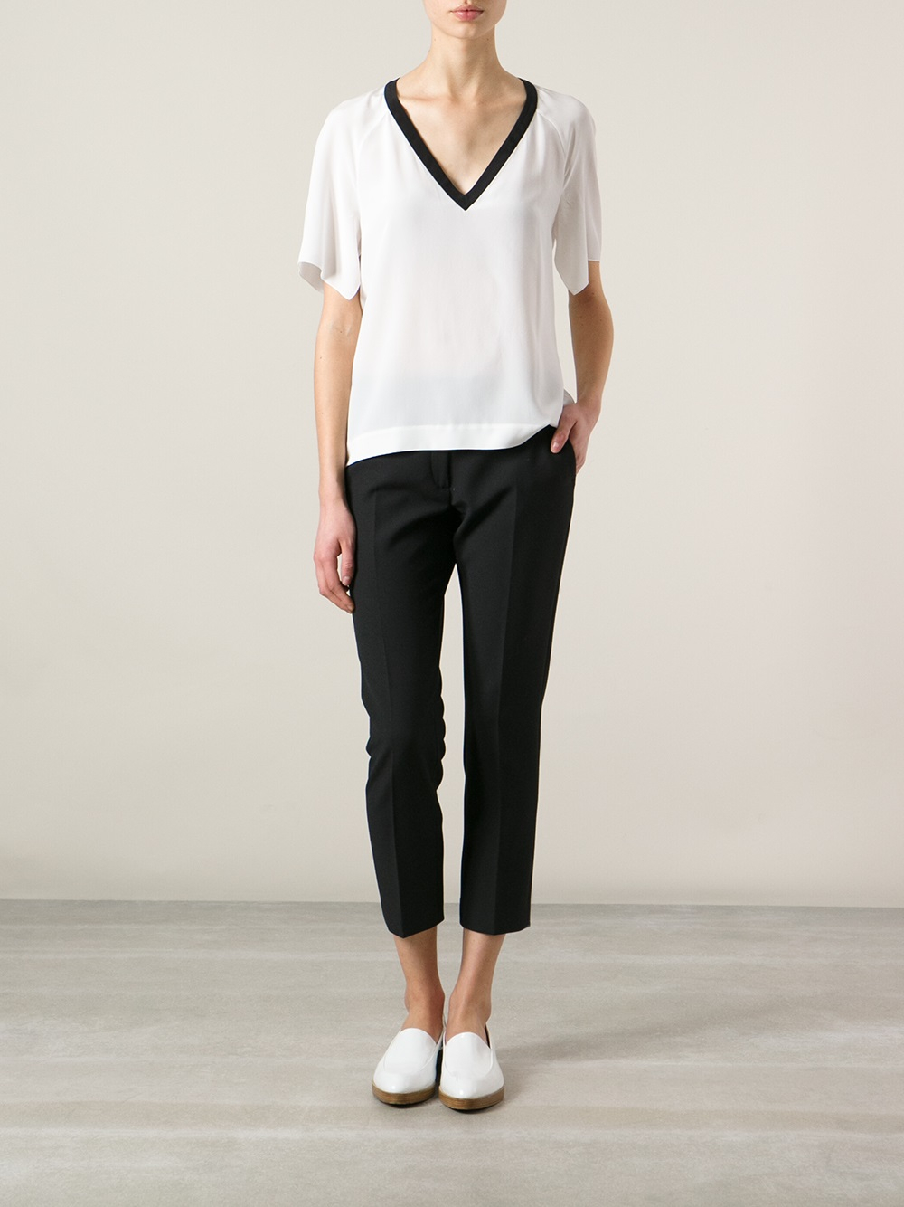 world-wide selection of hot products delicate colors JOSEPH Black Queen Trousers