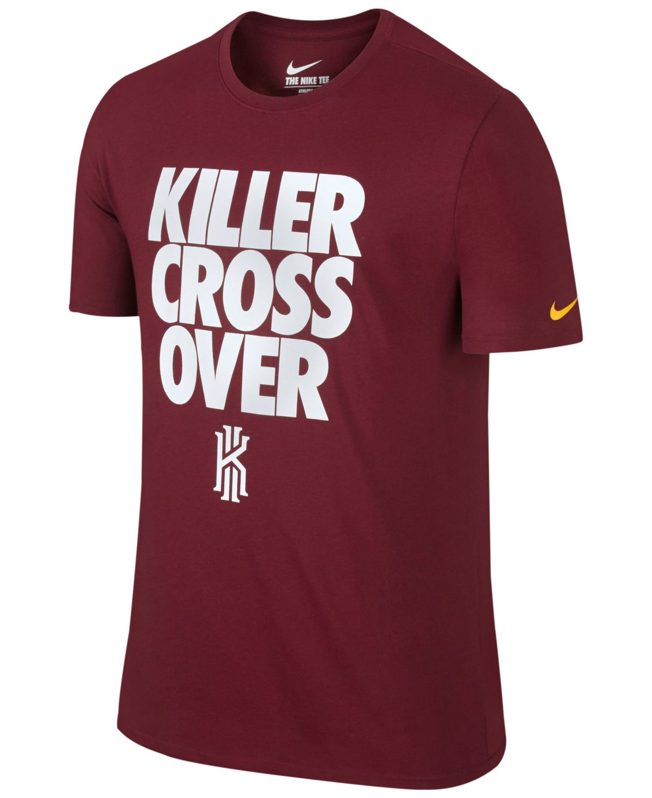 20b81485a67 Lyst - Nike Kyrie Graphic Dri-fit T-shirt in Red for Men