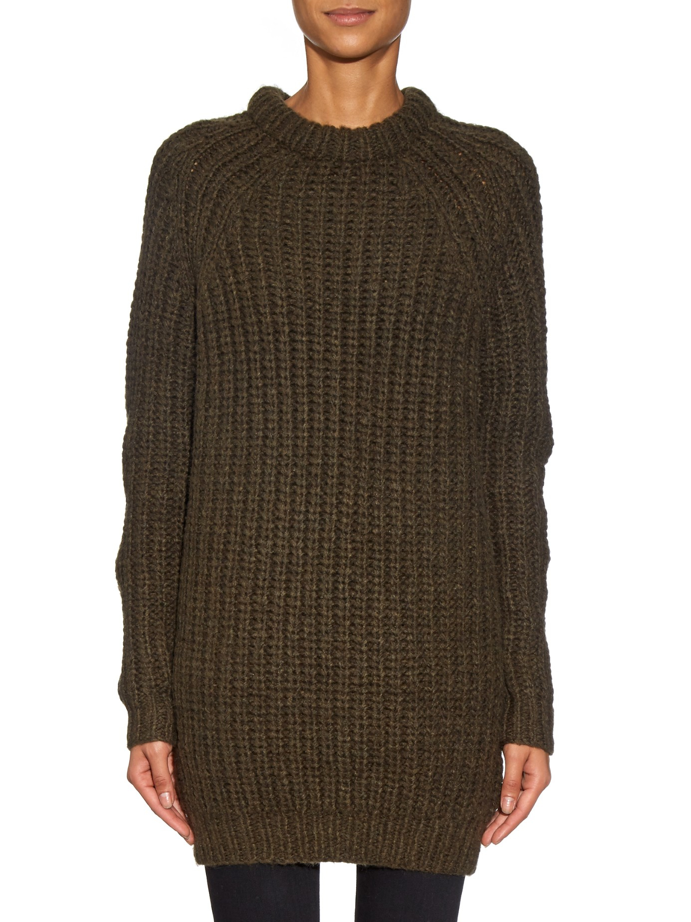 fedbbc908 Lyst - NLST Fisherman Wool Sweater Dress in Natural