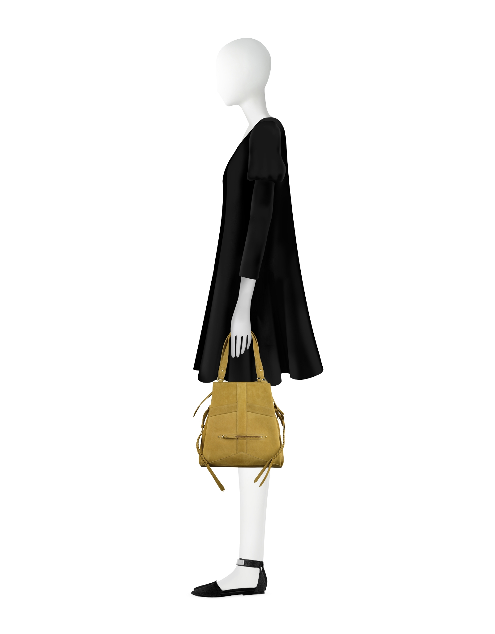 Favori Jérôme dreyfuss Anatole Mustard Leather Shoulder Bag in Yellow   Lyst FH67