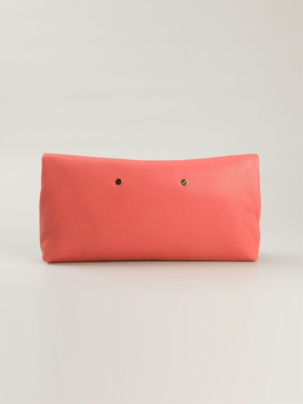 Chlo�� \u0026#39;drew\u0026#39; Clutch in Pink (yellow \u0026amp; orange) | Lyst