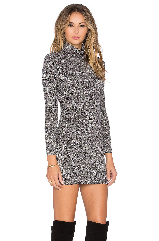 Lyst - Capulet Long Sleeve Turtleneck Sweater Dress in Gray 9e32b3c331