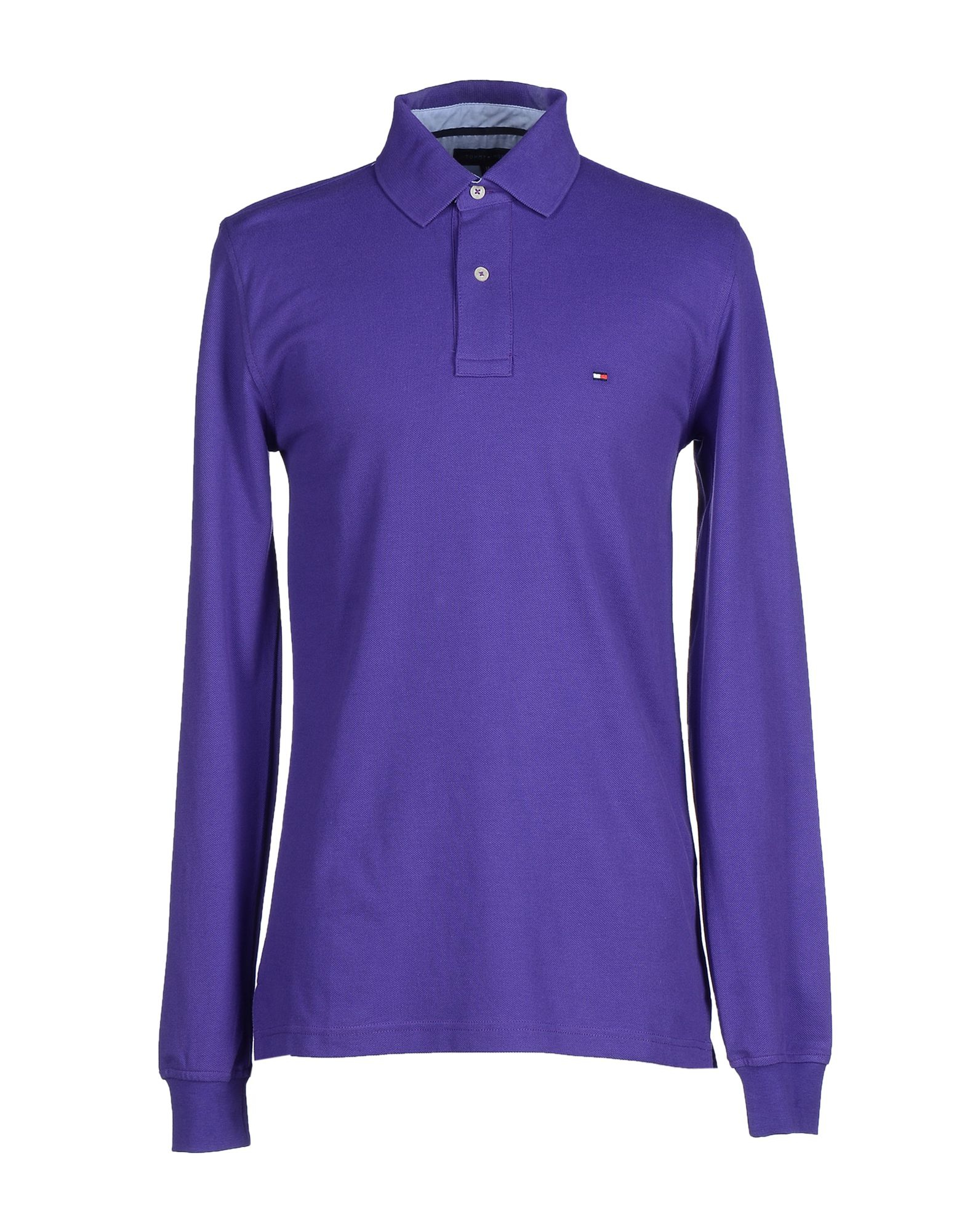 tommy hilfiger polo shirt in purple for men lyst. Black Bedroom Furniture Sets. Home Design Ideas