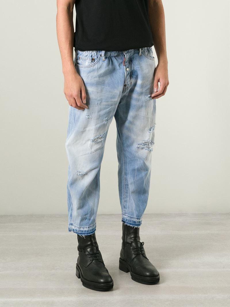 Mens Skinny White Jeans