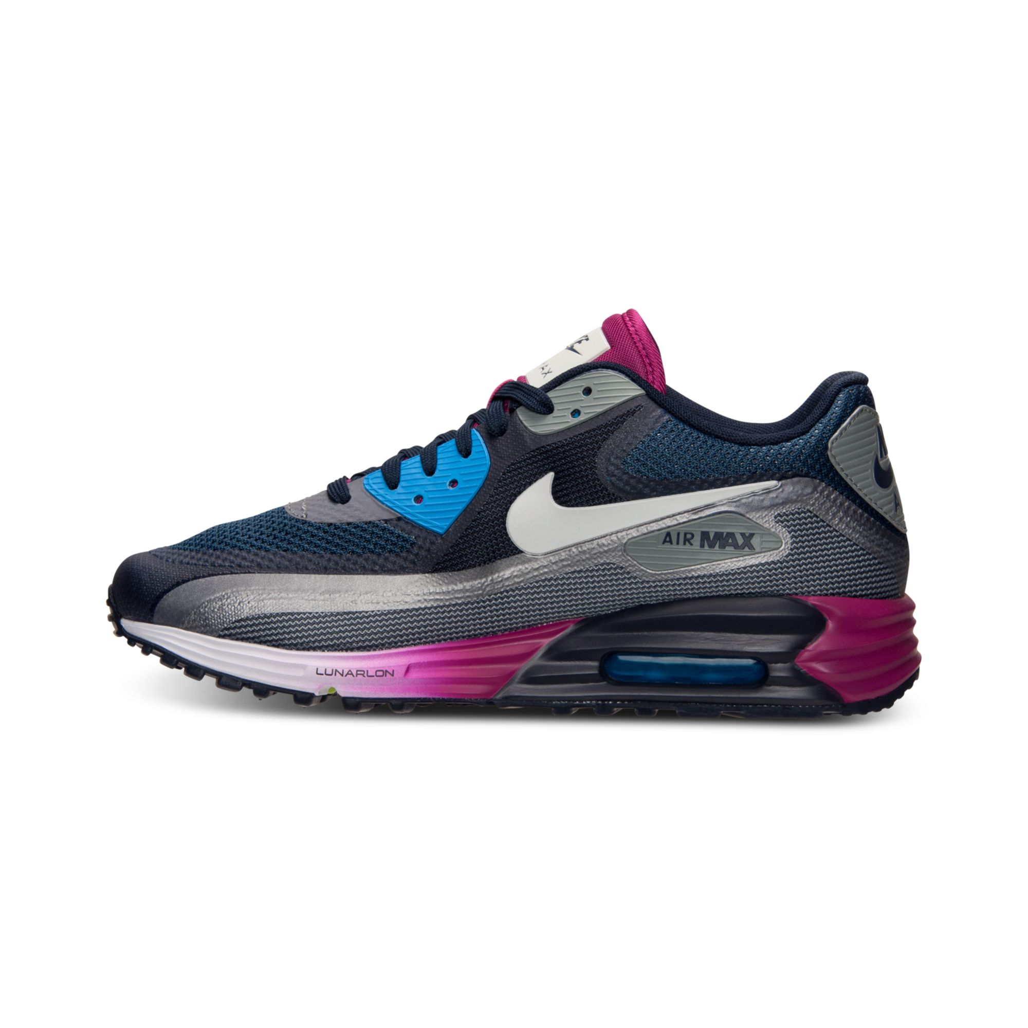new style 335f6 a97aa ... promo code for lyst nike mens air max 90 lunar c30 running sneakers  from finish 7a451