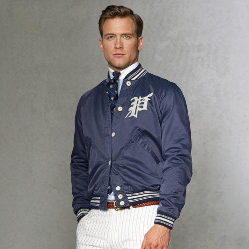 Polo Ralph Varsity Baseball Jacket Lauren Ybgfy67v