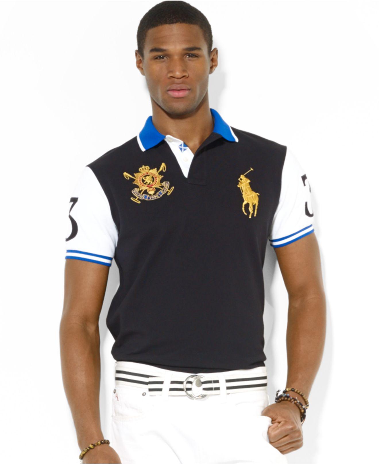 Black Polo Watch Ralph Lauren Shirts DI2E9WHY