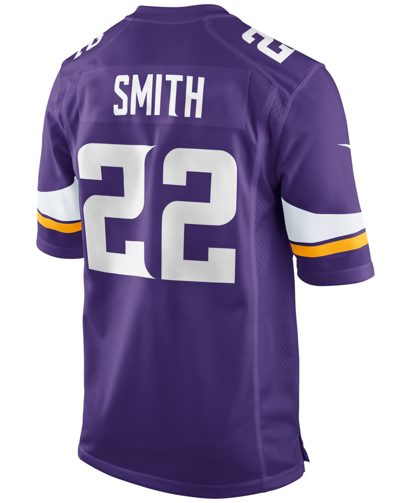Jerseys NFL Wholesale - mens minnesota vikings harrison smith nike purple game jersey