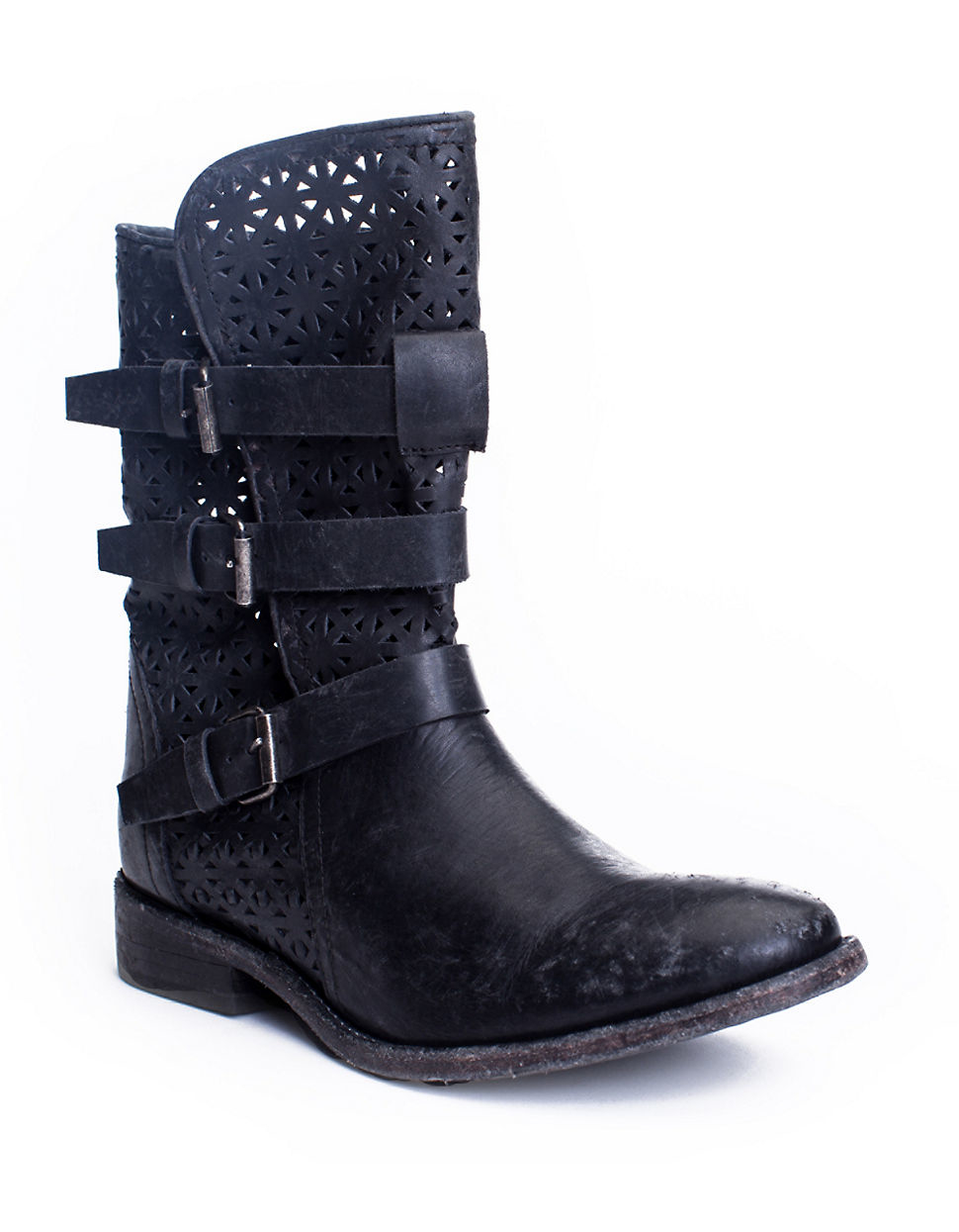matisse national leather ankle boots in black lyst