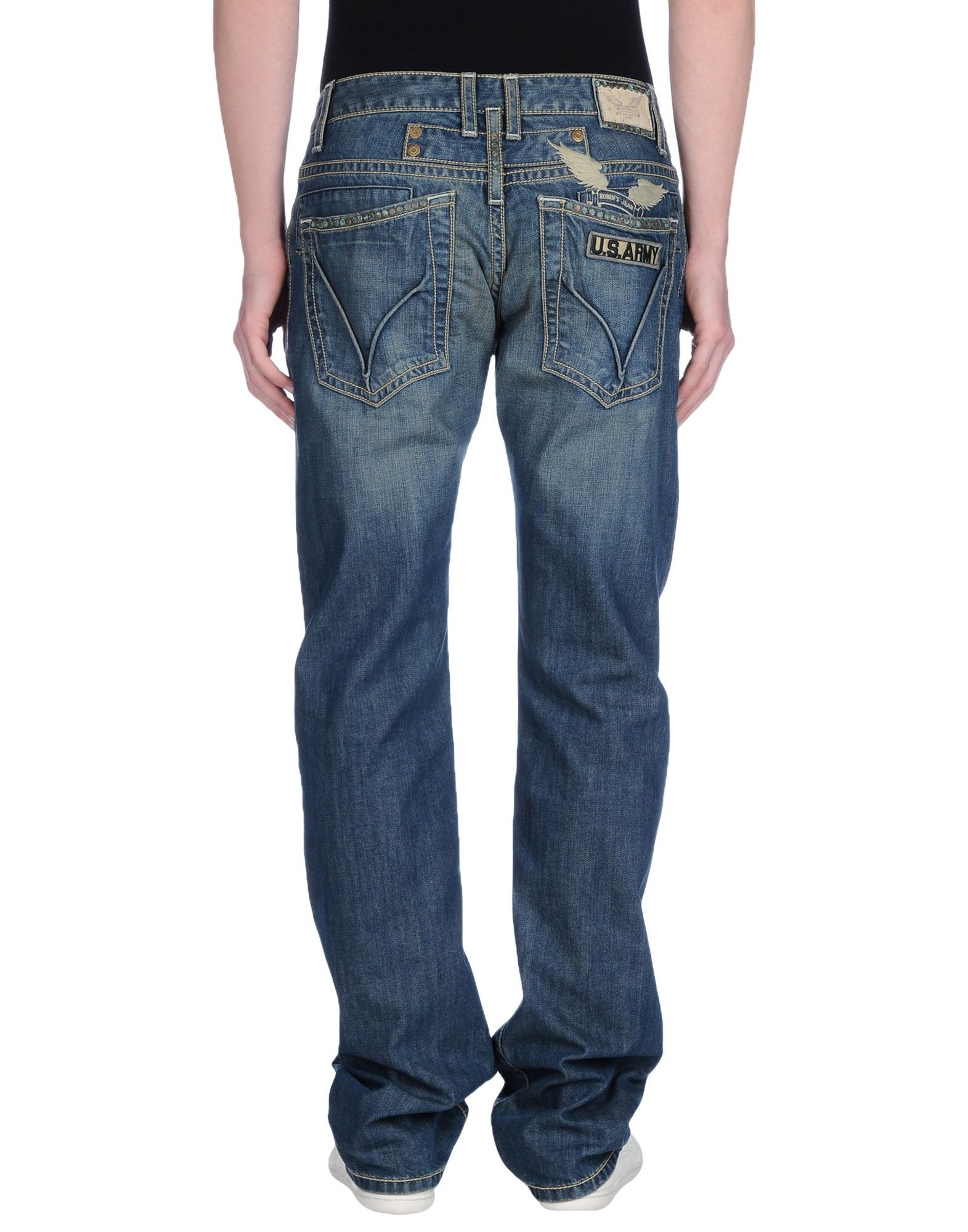 Dark Denim Jeans Men