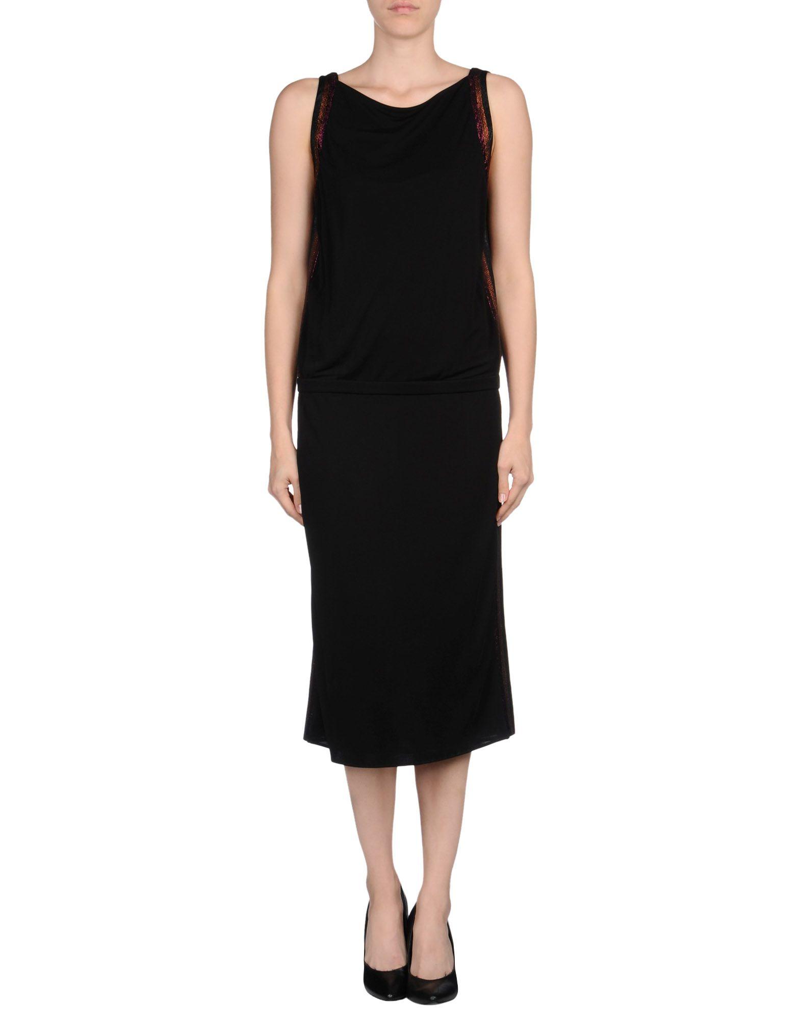 lyst gucci short dress in black