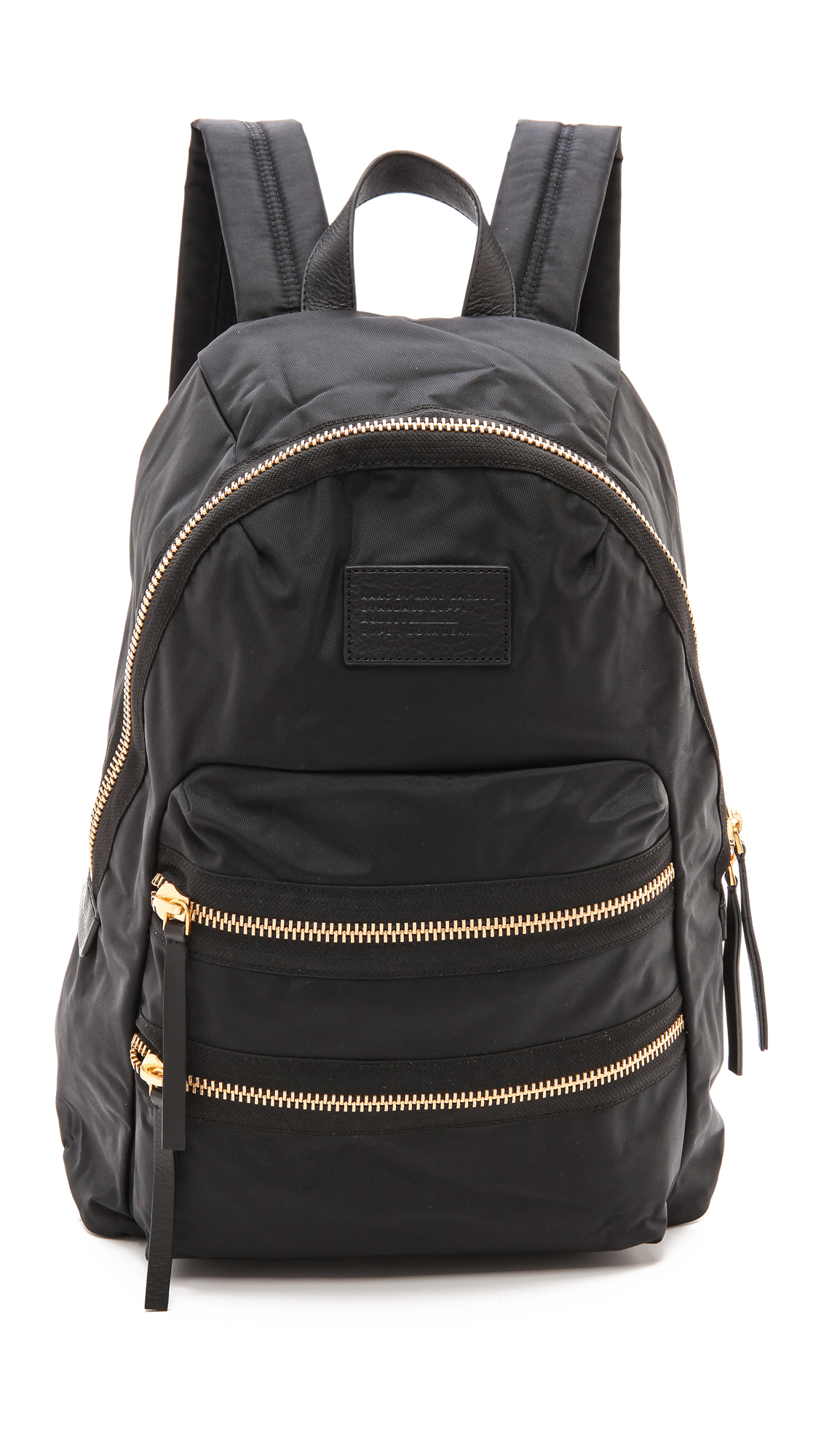 lyst marc by marc jacobs loco domo packrat backpack in black. Black Bedroom Furniture Sets. Home Design Ideas