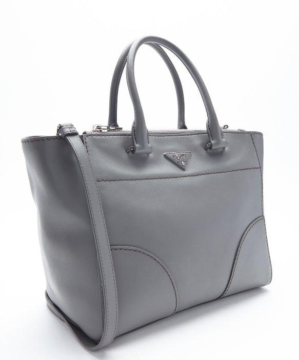 Prada Marble Calfskin Convertible Tote in Gray (grey) | Lyst - prada galleria bag marble gray + white + baltic blue
