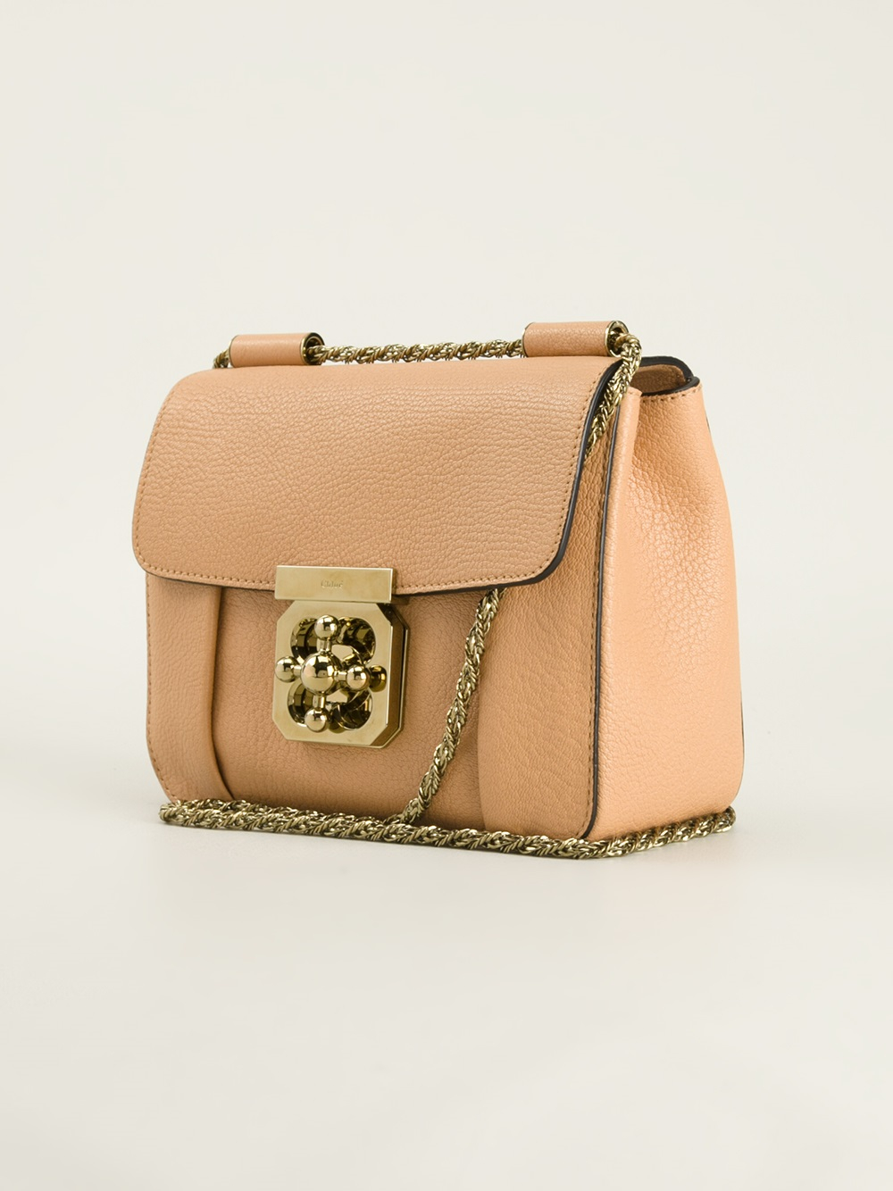 Chlo�� Elsie Cross Body Bag in Beige (nude \u0026amp; neutrals) | Lyst