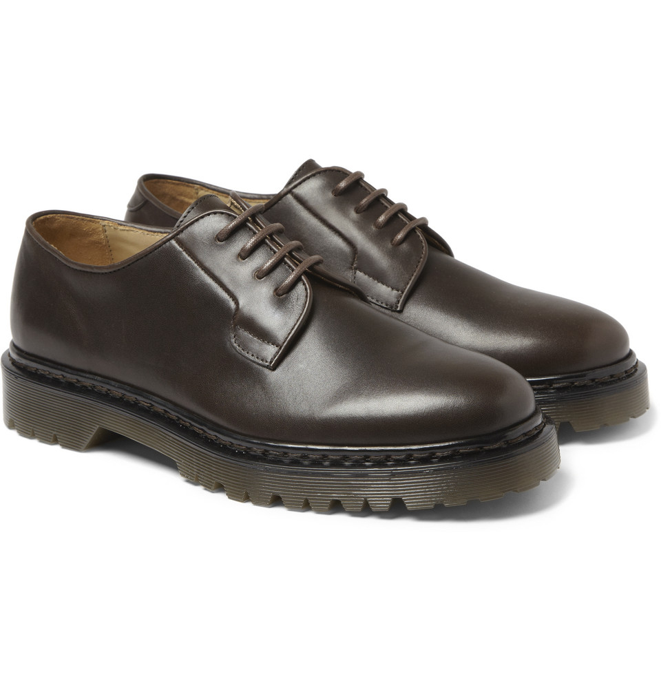 Smooth Leather Soled Shoes