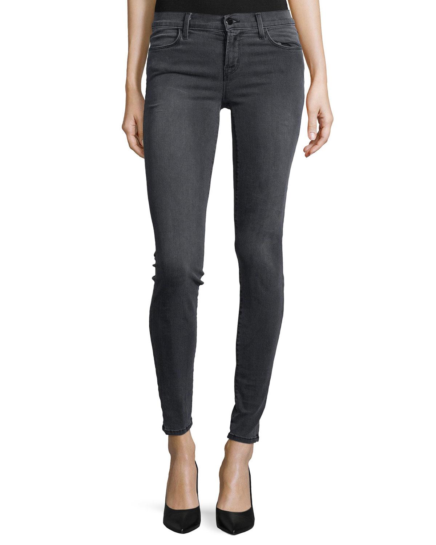 lyst j brand 620 super skinny jeans in blue. Black Bedroom Furniture Sets. Home Design Ideas