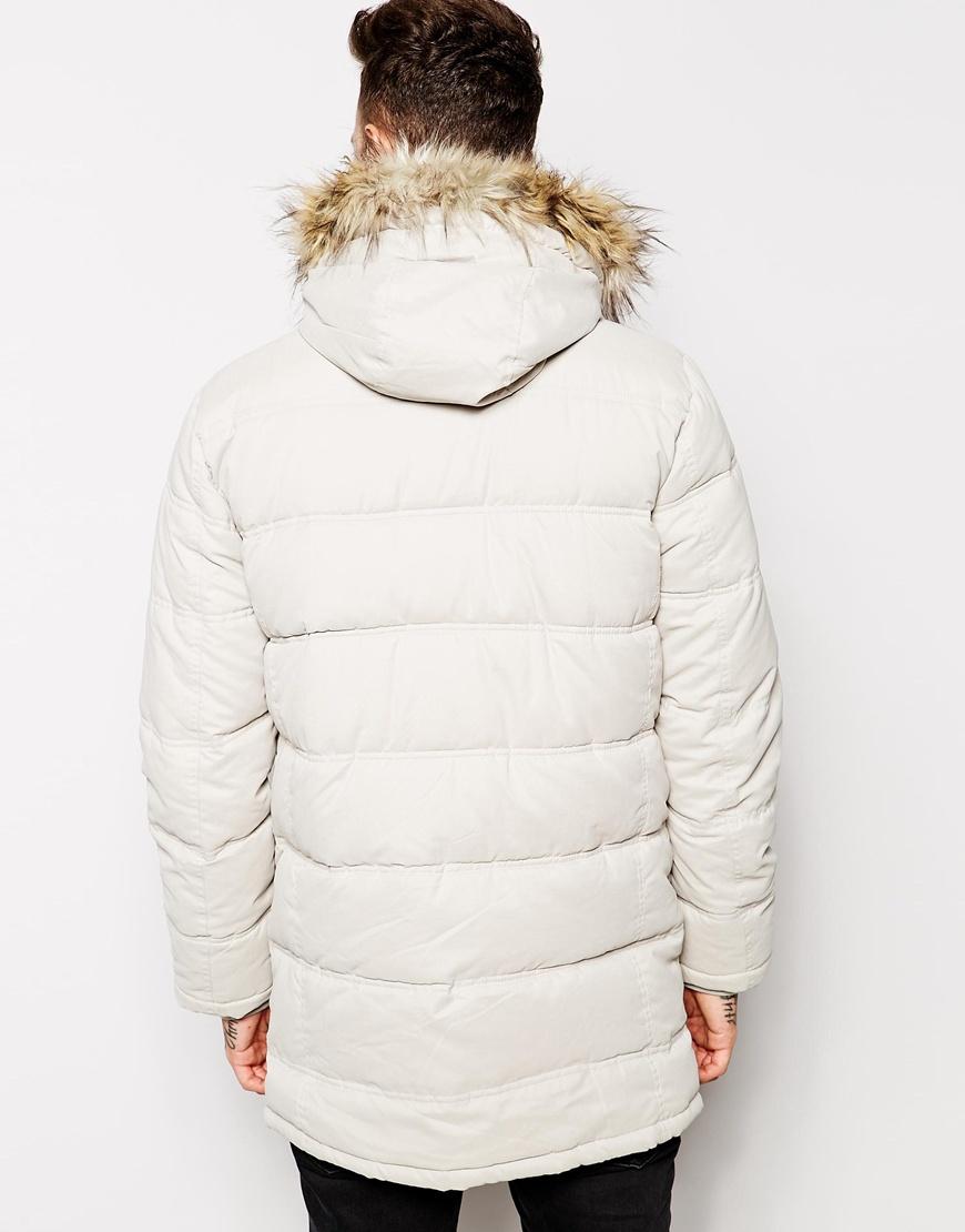 White Parka Jacket Outdoor Jacket