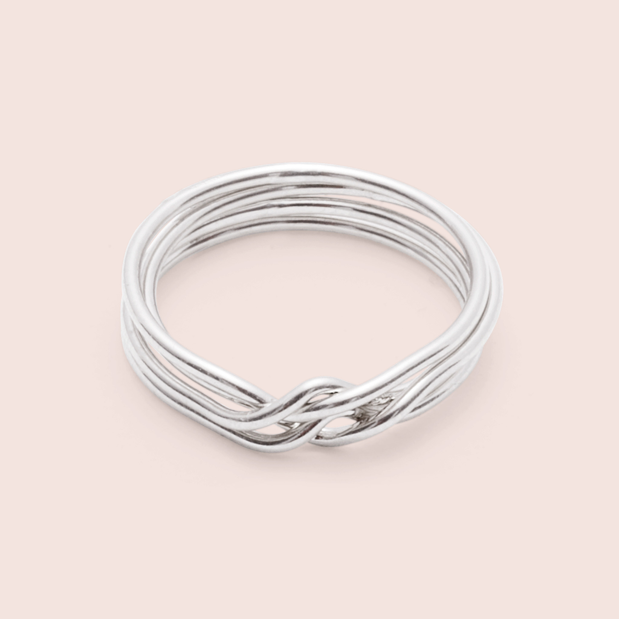 erica weiner puzzle ring silver in gray lyst
