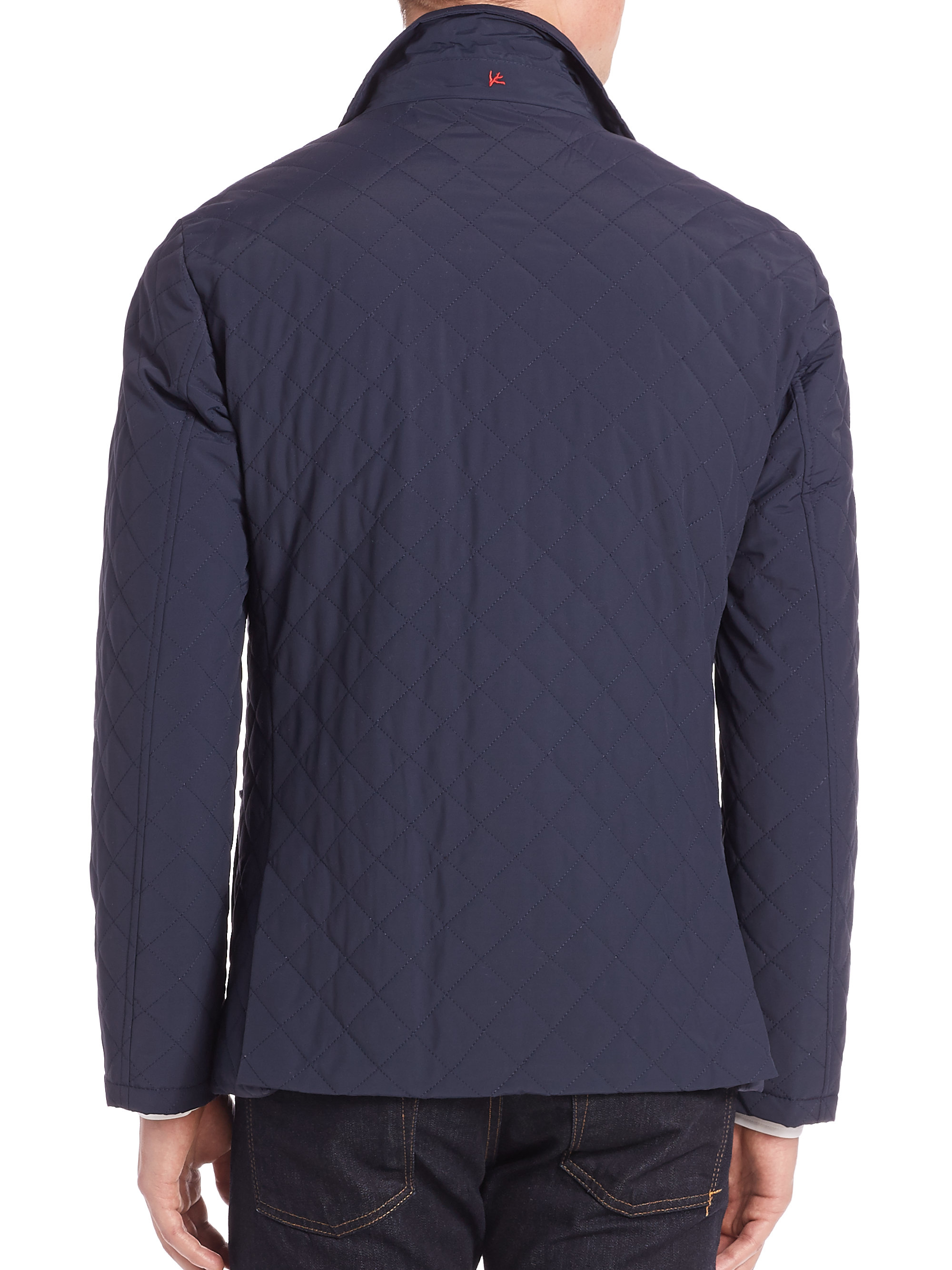 footjoy fj shirt golf thermal quilt jacket previous navy quilted