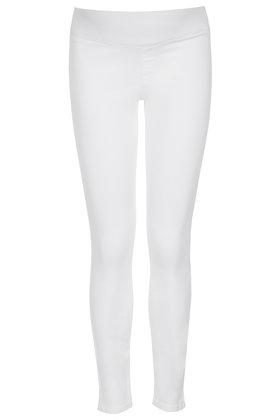 50c0970d94e1e TOPSHOP Maternity Moto Definitives White Joni Jeans in White - Lyst