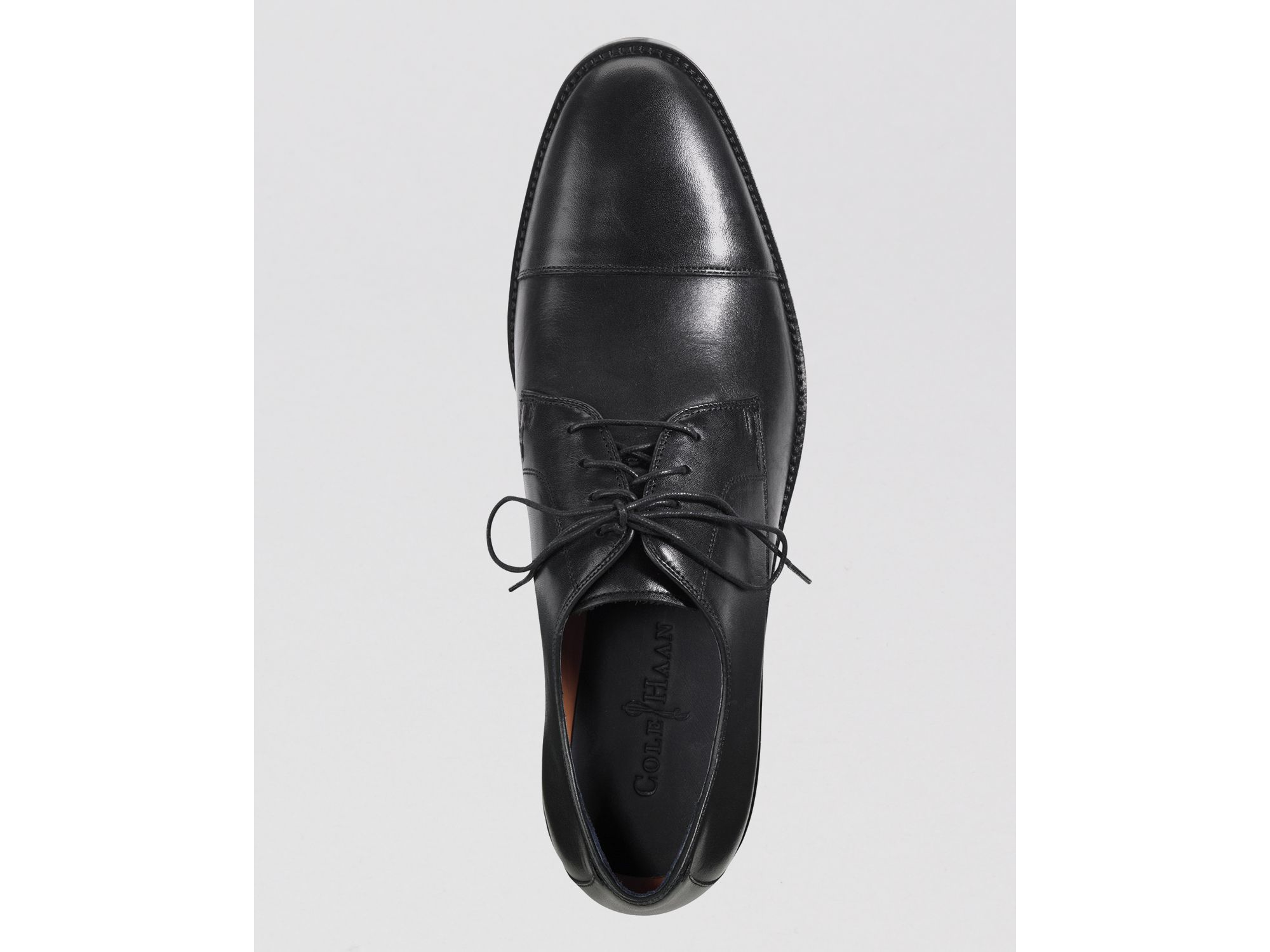 Lyst Cole Haan Lenox Hill Leather Cap Toe Oxfords In