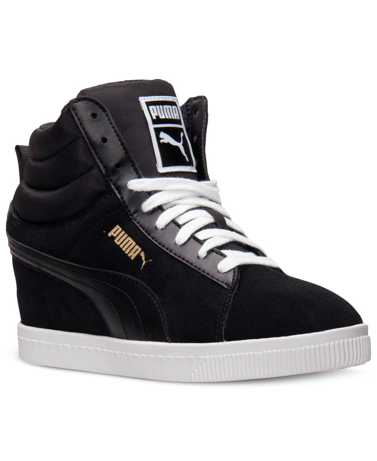 premium selection b0921 1b506 Gallery. Previously sold at  Macy s · Women s Wedge Sneakers Women s Puma  ...