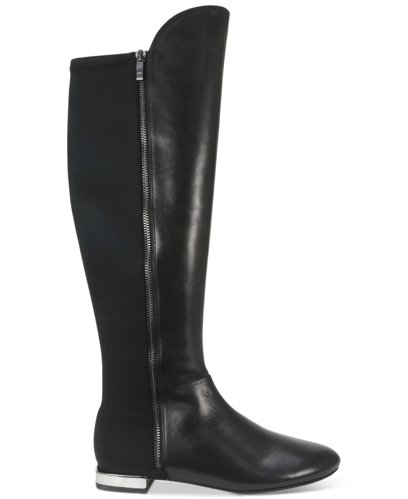 tahari ramses the knee boots in black lyst