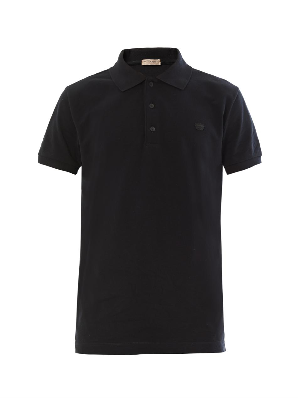 Lyst bottega veneta patch pocket cotton t shirt in black for Bottega veneta t shirt