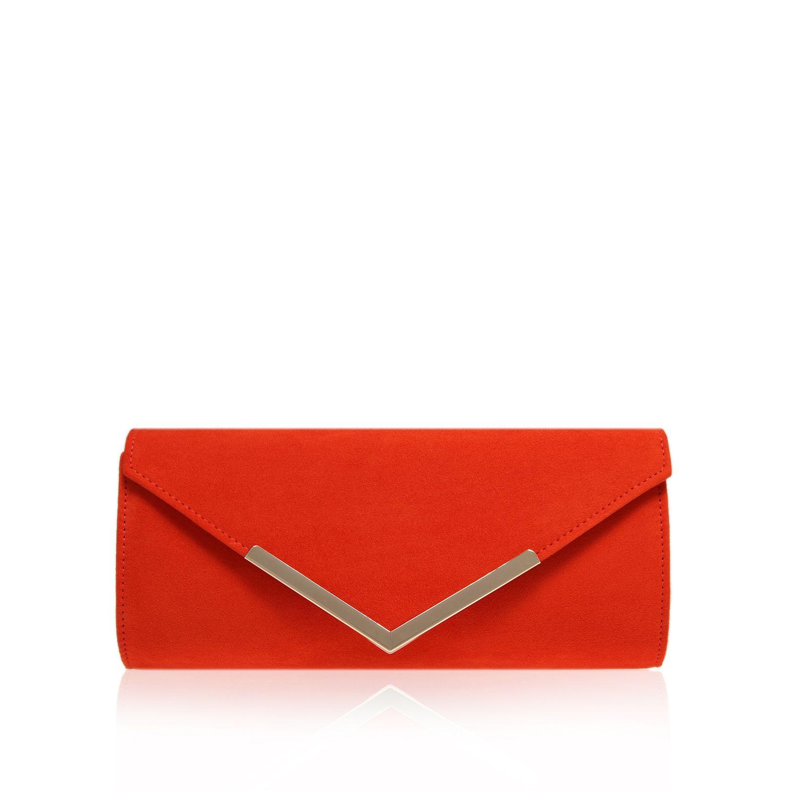 Carvela kurt geiger Daphne Clutch Evening Bag in Red : Lyst