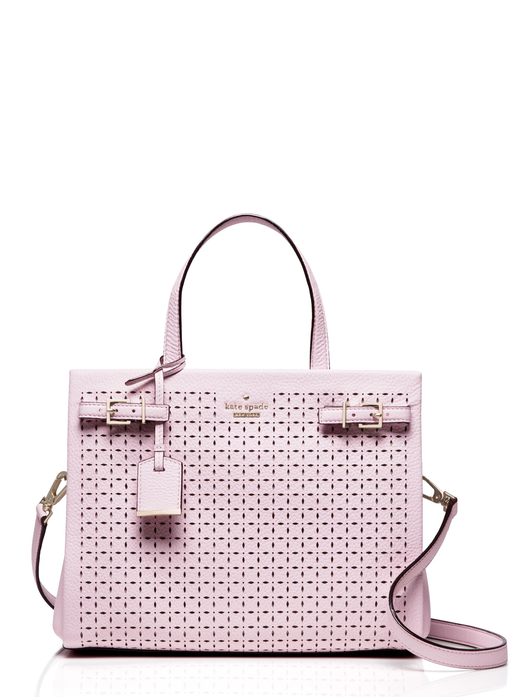 a0cb40f6d75 Kate Spade Milton Lane Olivera In Pink Lyst. Cedar Street Maise Satchel Bag  Pink Blush
